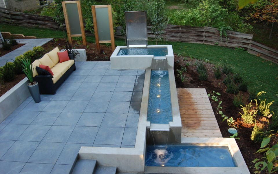 Fontanny ogrodowe i inne elementy wodne