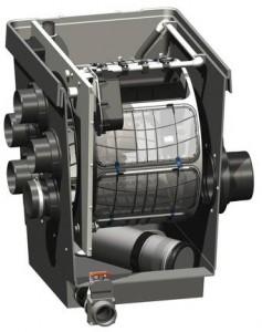 ProfiClear Premium filtr bębnowy gravitacyjny
