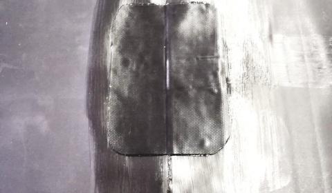 Klejenie dziur w oczku wodnym. Łatanie dziur w folii w stawie.